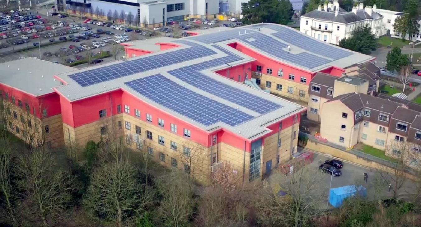 Manchester Matters Parrs Wood High School Solar Power