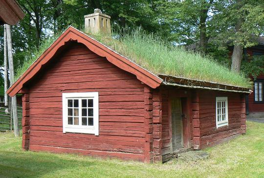 Traditional Green Roof Sweden