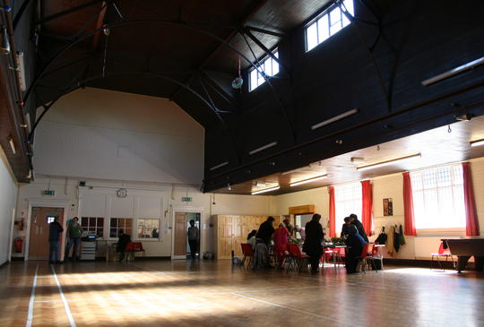 Main Hall at St. John's Centre