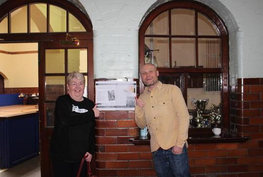 Rosemary Swift and Chris Hoyle