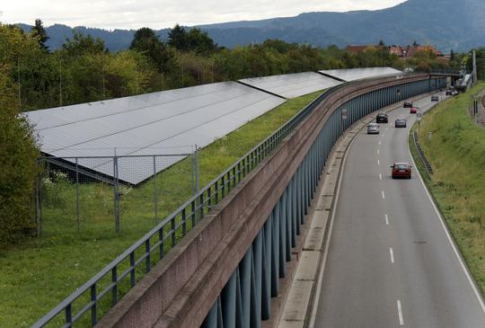 Freiburg solar aray
