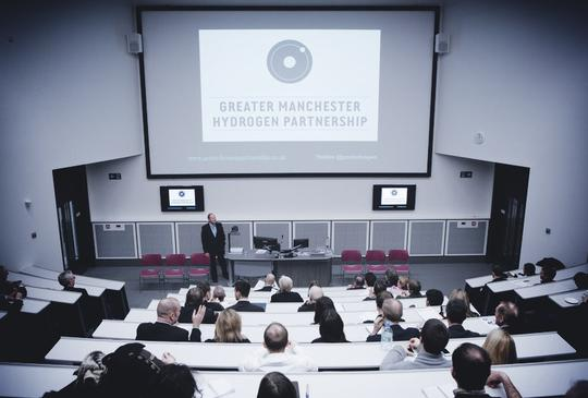 Greater Manchester Hydrogen Partnership launch at MMU