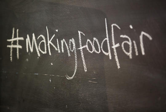 MAKING FOOD FAIR